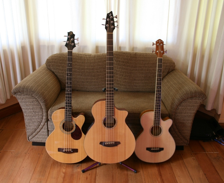 my acoustic basses