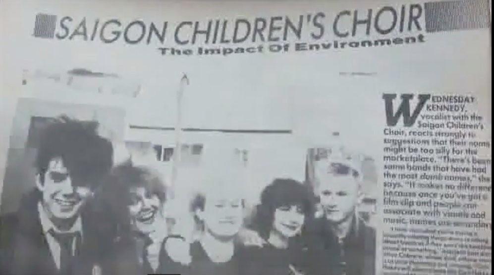 saigons children's choir